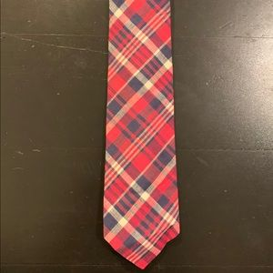 Brooks Brothers Makers Cotton Madras Plaid Tie